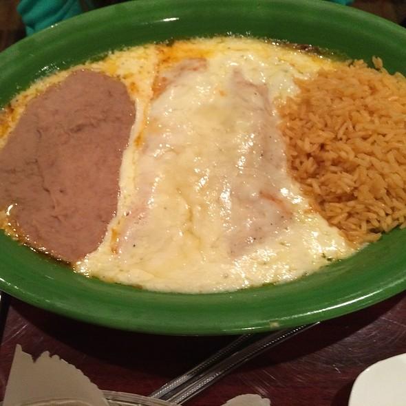 enchiladas @ Tony's Mexican Restaurant
