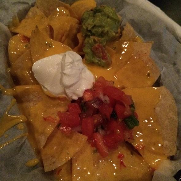 Nachos With Guacamole & Sour Cream @ Star Cinema Grill
