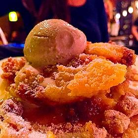 Jude's Kansas City Rum Cake Bread Pudding - Tannin Wine Bar and Kitchen, Kansas City, MO