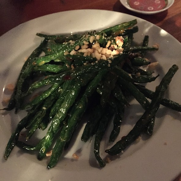 Blistered Green Beans - Shabu, Park City, UT