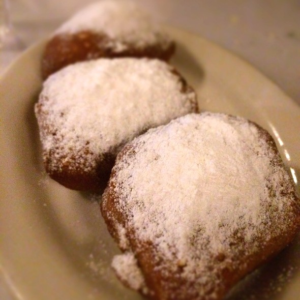 Chocolate Beignets @ Brendas French Soul Food