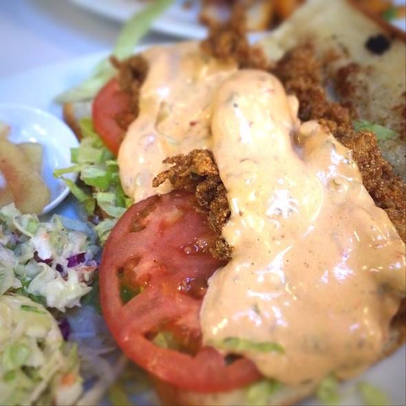 Fried Oyster Po'Boy @ Brendas French Soul Food