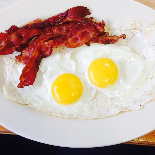 Side Of Bacon And Eggs