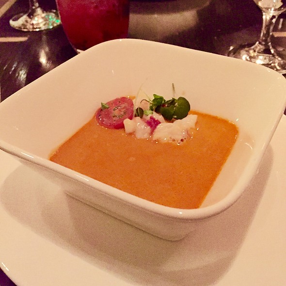 Lobster Bisque @ Gordon Ramsay at The London