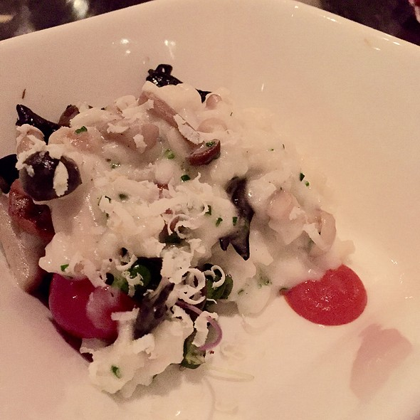 mushroom risotto @ Gordon Ramsay at The London