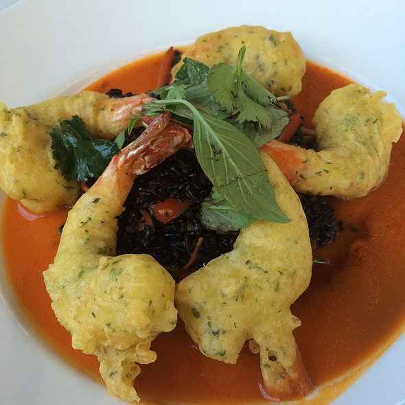 Fried Tempura Shrimp @ Carthay Circle Restaurant and Lounge