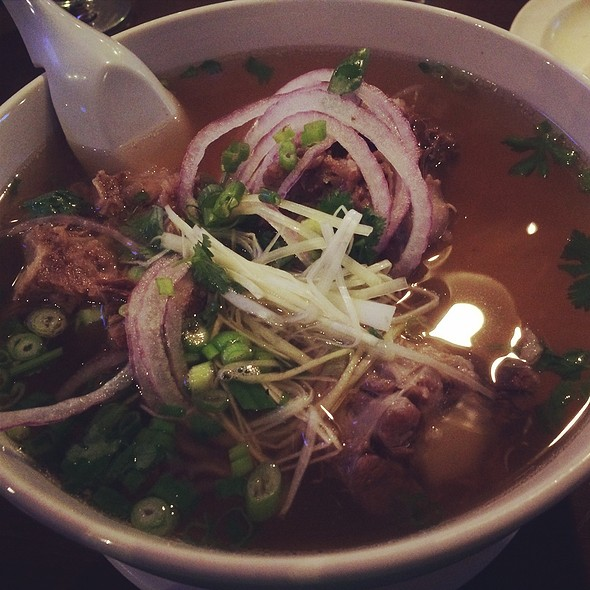 Ox Tail In Pho @ District One Kitchen & Bar