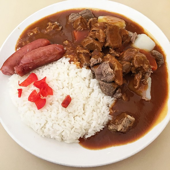 Curry Beef Rice Plate