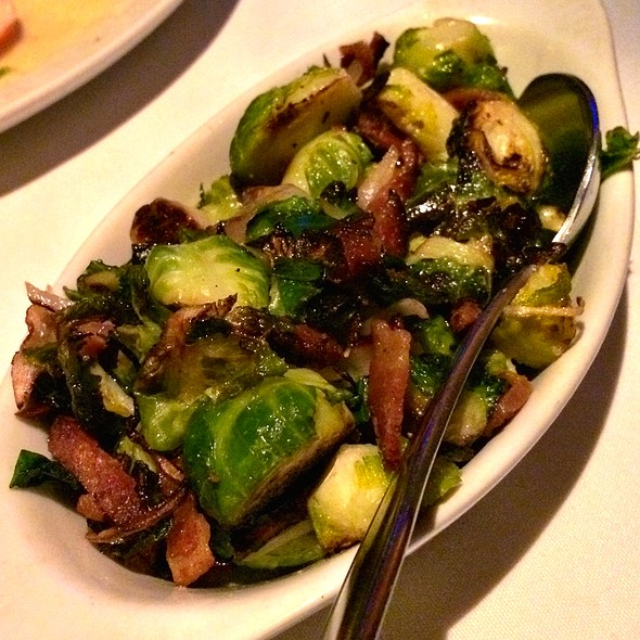 Brussels  Sprouts , Bacon and Shallots  - Wildfish Seafood Grille - Newport Beach, Newport Beach, CA