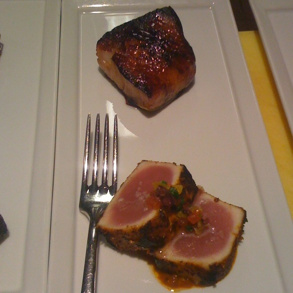 Black Cod And Bbq Tuna - BLT Steak Atlanta, Atlanta, GA