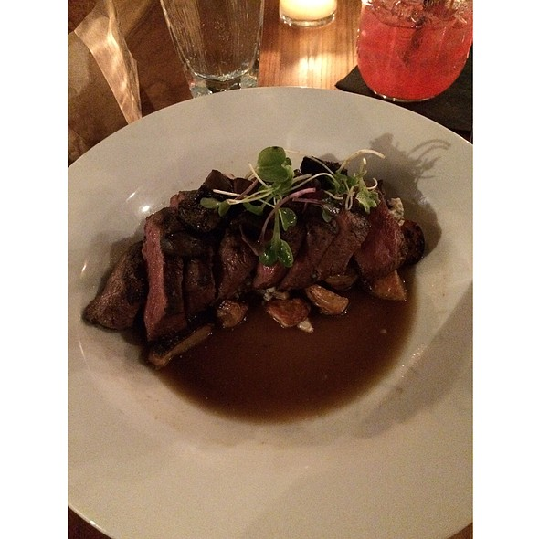 Grilled Flat Iron Steak - The Twisted Tail, Philadelphia, PA