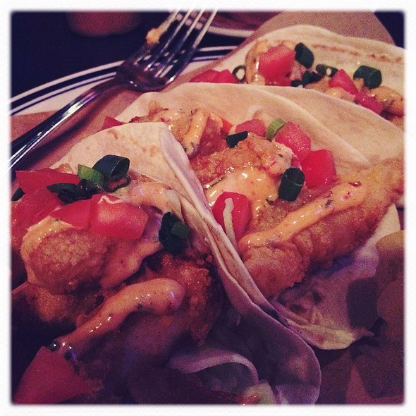 fish tacos @ Smokestack Urban Barbecue