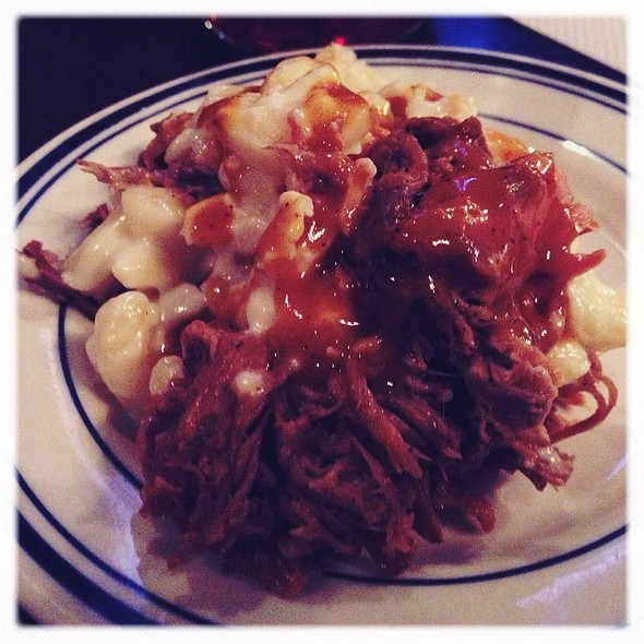 BBQ mac & cheese @ Smokestack Urban Barbecue