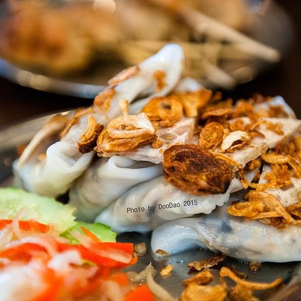 ข้าวเกรียบปากหม้อญวน   Banh Cuon @ ร้านอาหารเวียดนาม อินโดจีน (Indojeen)