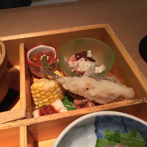 Bento Box Fried Fish & Vegetables - NAOE, Miami, FL