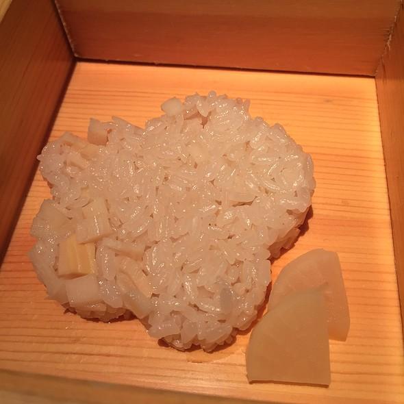 Bento Box Rice With Daikon - NAOE, Miami, FL