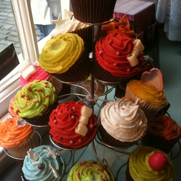 Cupcakes @ Hands Dining and Tea Room