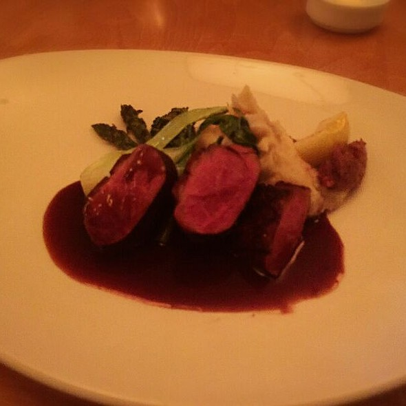 Duck Breast @ Windigo Restaurant @ Fairmont Tremblant