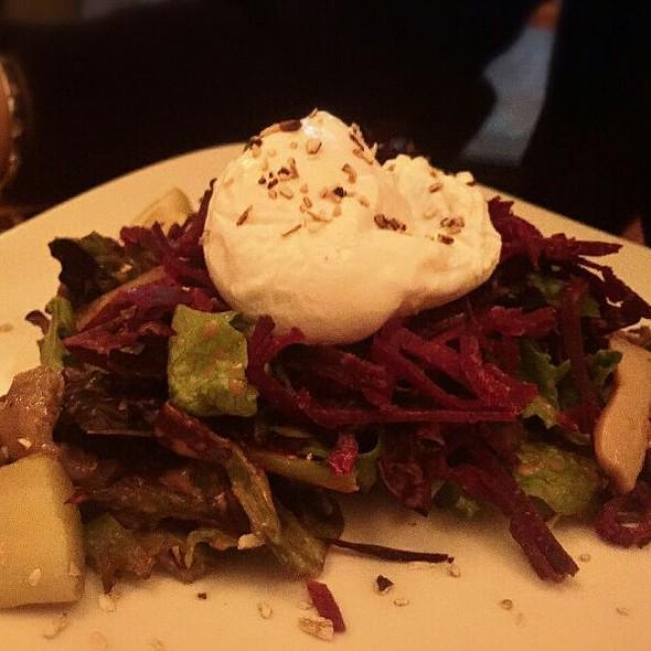 Smoked Bison Salad @ Windigo Restaurant @ Fairmont Tremblant
