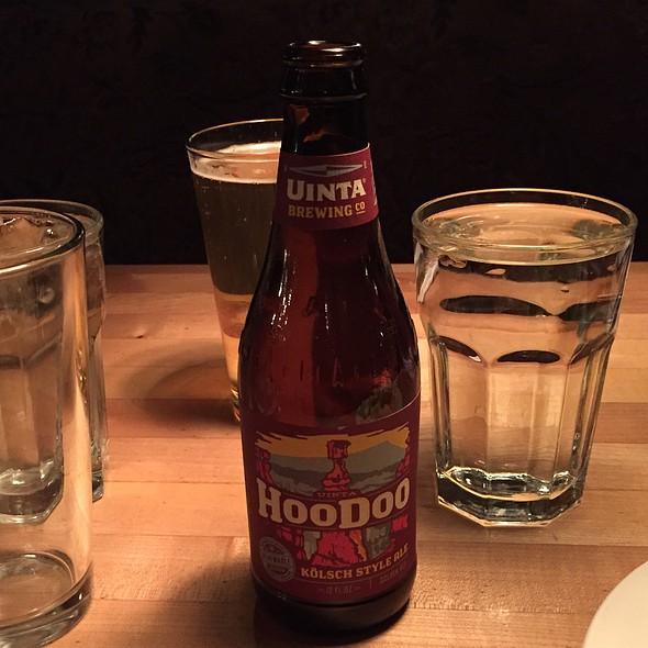 Hoodoo Kölsch Style Ale - Grub Steak Restaurant, Park City, UT