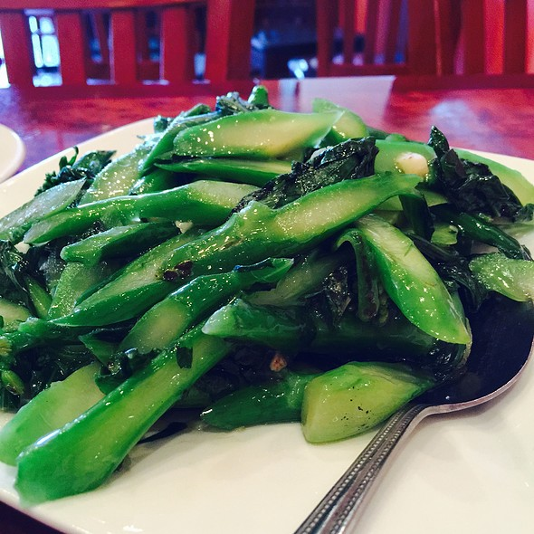 chinese broccoli @ Grandlake Chinese Cuisine