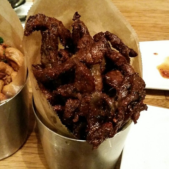 Salty Thai Beef Jerky @ Pakpao