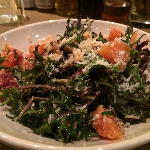 Kale Salad With Mandarins, Toasted Hazelnuts, Pecorino