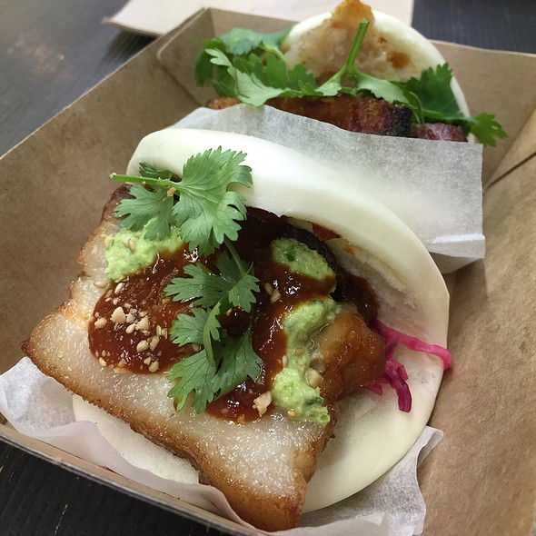 Twice Cooked Pork Belly Bao