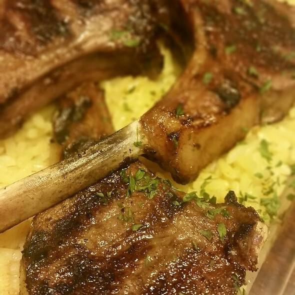Lamb Kabobs @ Markos Restaurant