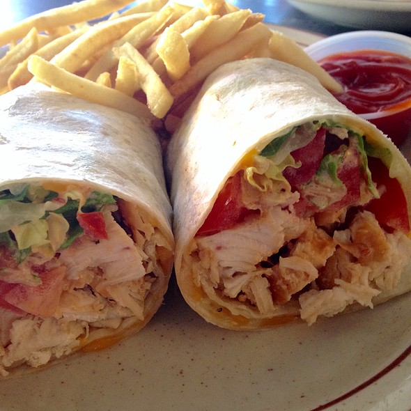 how to make a chipotle chicken wrap