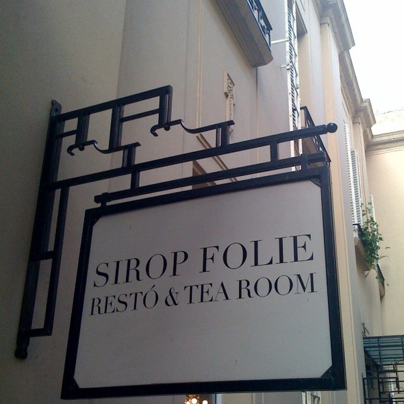 Afternoon Tea @ Sirop Folie Resto & Tea Corner