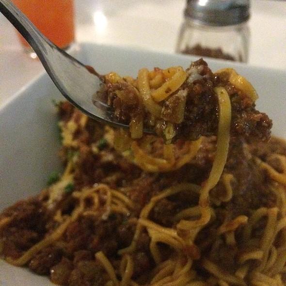 Spaghetti Bolognese @ P3 Artesian Pasta