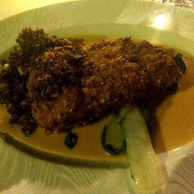 Macademian Grouper In A Red Curry Sauce