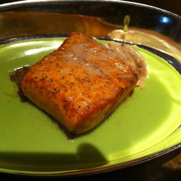 Olive Oil Poached Salmon @ Blue Duck Tavern