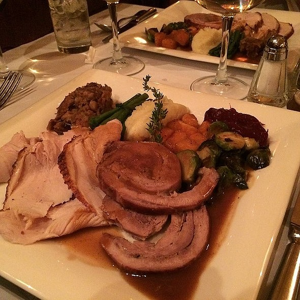 Thanksgiving Dinner Menu - Orsay, New York, NY