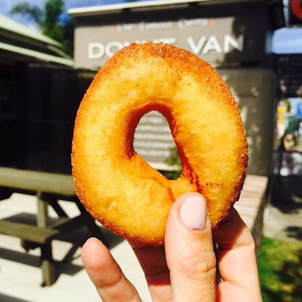 Cinnamon Donut @ The Famous Berry Donut Van