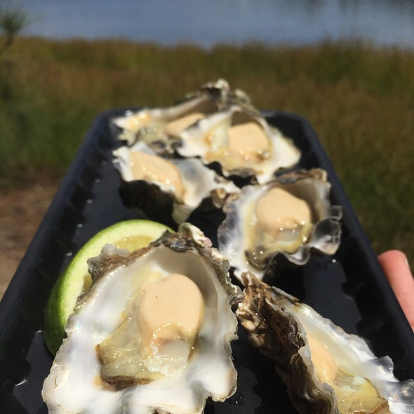 Clyde River Oysters @ The Fish Shop