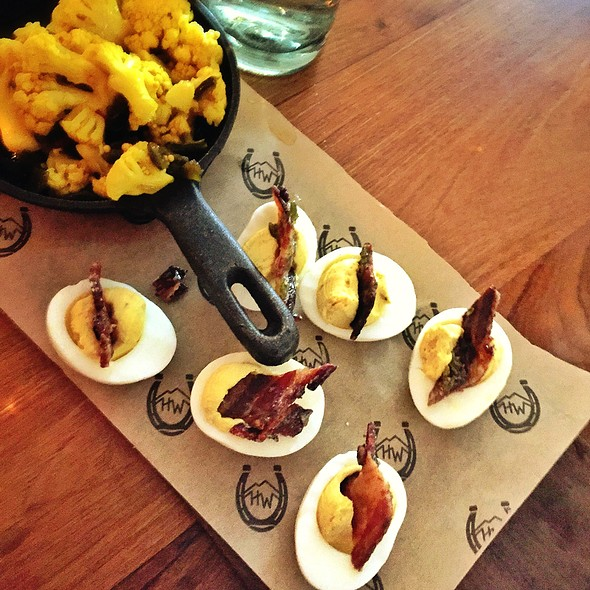 Deviled Eggs @ High West Distillery & Saloon