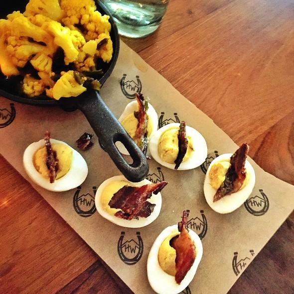 Deviled Eggs @ High West Distillery & Saloon