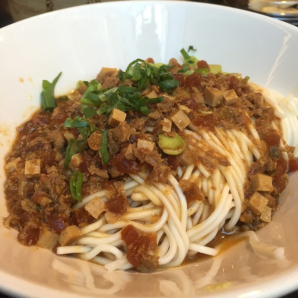 Cha Jiang Noodle with Minced Pork