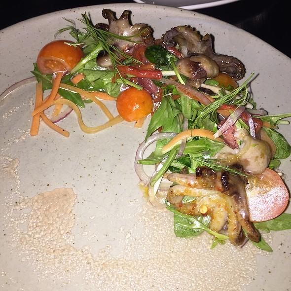 Charred Baby Octopus Salad - Raw Bar, Calgary, AB
