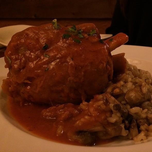 Pork Osso Bucco - DiGiorgio's Cafe Largo, Key Largo, FL