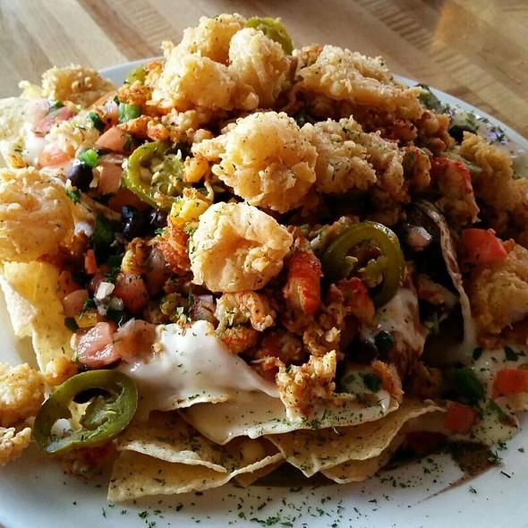 Fried Shrimp And Crawfish Nachos @ Pier 247