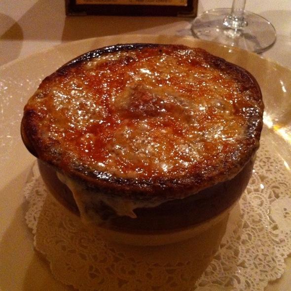 French Onion Soup - Orsay, New York, NY