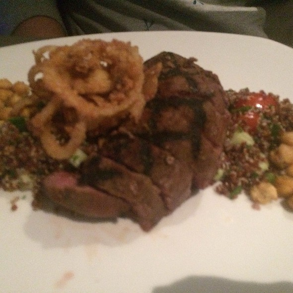 Moroccan Spiced Steak - Cafe Modern, Fort Worth, TX