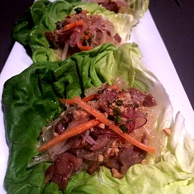 Duck Lettuce Wraps