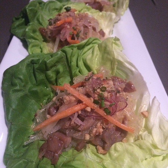 Duck Lettuce Wraps - Cafe Modern, Fort Worth, TX