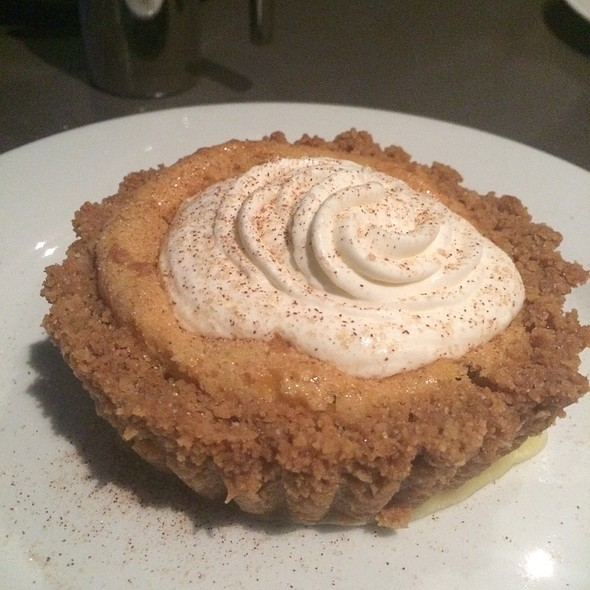 Oatmeal Cookie Chess Pie - Cafe Modern, Fort Worth, TX