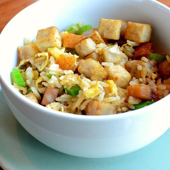 芋頭燒肉粒炒飯,Fried Rice with Taro & Roasted Pork @ Shatin 18