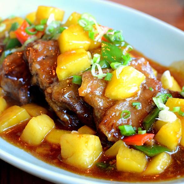 馬拉盞鳳梨煎牛腩,Pan-fried Beef Brisket with Pineapple & Preserved Shrimp Paste @ Shatin 18